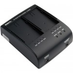 Swit S-3602I Dual Charger/Adapter for JVC SSL-JVC50 Battery