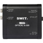 Swit S-4606 Portable Optical to SDI Converter