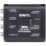 Swit S-4609 Portable SDI Audio De-Embedder