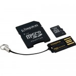 Kingston 8GB Class-4 Micro SDHC Memory Card Mobility Kit