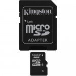 Kingston 8GB Class-4 Micro SDHC Memory Card with SD Adapter