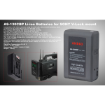 Ansso AS-130CBP V-Lock Li-ion Battery 130Wh