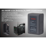 Ansso AS-190CBP V-Lock Li-ion Battery 190Wh