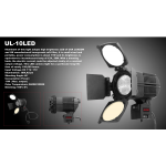 Ansso UL-10 LED Camera Light