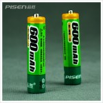 Pisen AAA 600mAh Ni-MH Rechargeable Battery(2pcs)