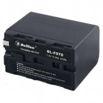 Beillen BL-F970 Li-ion Battery 47WH for Sony DV Camera