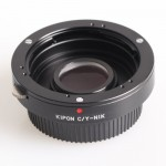 Kipon C/Y-NIK Contax / Yashica Lens Convert to Nikon Mount Camera Body Adapter Ring
