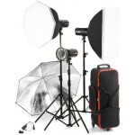 Jinbei DM2-200-3 Studio Lighting Kit