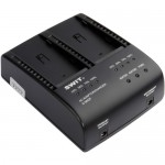 Swit S-3602F Dual Charger/Adapter for Sony NP-F970/770/960/950 Batteries