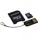 Kingston 4GB Class 4 Micro SDHC Memory Card Mobility Kit
