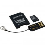 Kingston 16GB Class-4 Micro SDHC Memory Card Mobility Kit