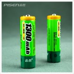 Pisen AA 1300mAh Ni-MH Rechargeable Battery (2 pcs)