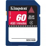 Kingston 4GB Class-4 SDHC Video Memory Card