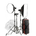 Jinbei S-180-3 Studio Lighting Kit