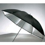 "Boling Silver with Black Cover Umbrella 33""/36""/40""/43"""