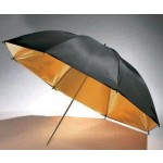 "Boling Golden with Black Cover Umbrella 33""/36""/40""/43"""